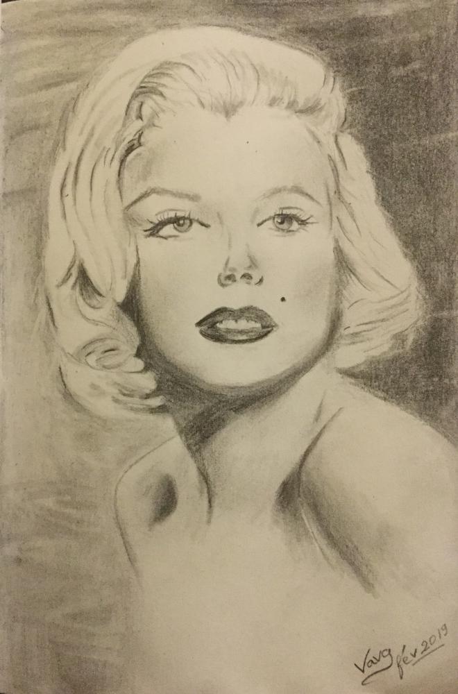 Marilyn Monroe by vava84